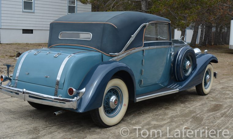 1933 Packard Eight Cabriolet Graber